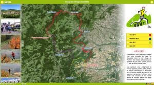 Capture du site Beaujolais Villages Trail 2019