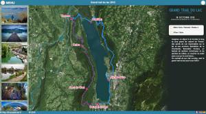 Capture du site Grand Trail du Lac 2019