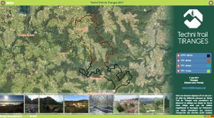 Capture du site Techni'Trail de Tiranges 2019