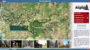 Capture du site Ultra Trail d'Angkor 2020