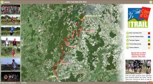 Capture du site Ultra Trail Côte d'Or 2019